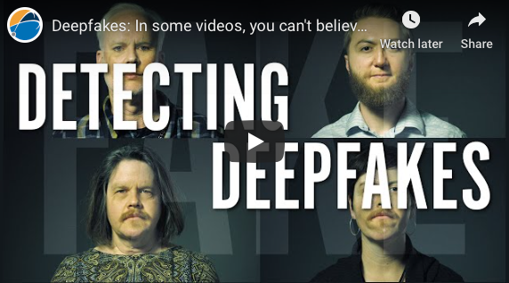 Dallas: Deepfakes: In some videos, you can't believe your eyes