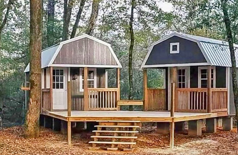 The 'We-Shed' Is a Dual Shed For Him and Her In Dallas