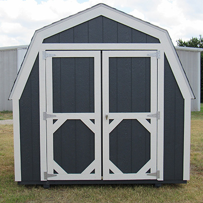 Ranch Barn Style Sheds in Dallas