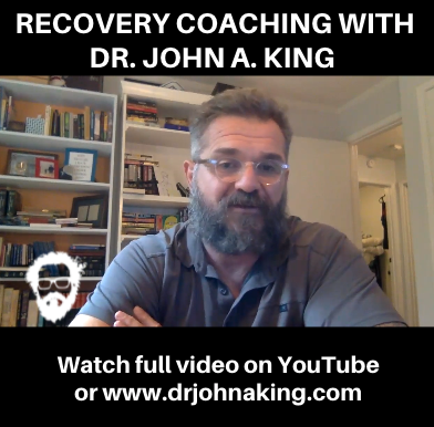 PTSD Recovery Coaching with Dr. John A. King in Dallas.
